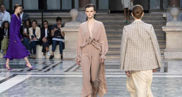 Victoria Beckham at London Fashion Week: Clothes that move with .