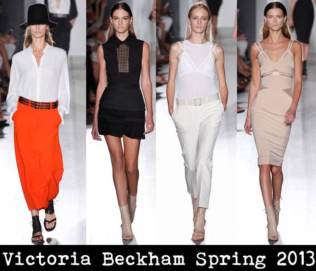 Victoria Beckham Spring 2013 - Red Carpet Fashion Awar