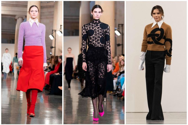 Victoria Beckham goes retro at London Fashion Week, Fashion News .