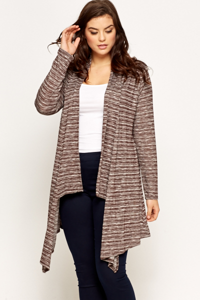 Striped Waterfall Cardigan | Outdoor Jack