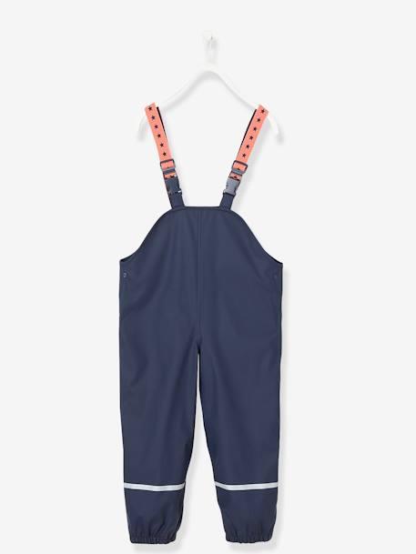 Waterproof Trousers for Kids - blue dark solid, Gir