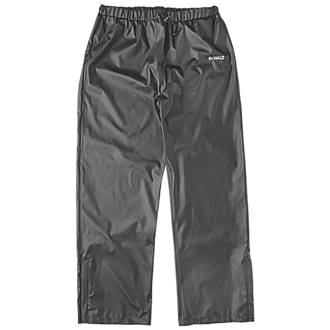 "DeWalt Hurlock Trousers Waterproof Black Medium 30-42"" W 30½"" L ."