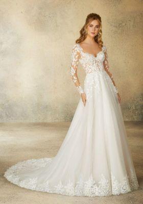 Reagan Wedding Dress | Morilee | Mori lee wedding dress, Tulle .