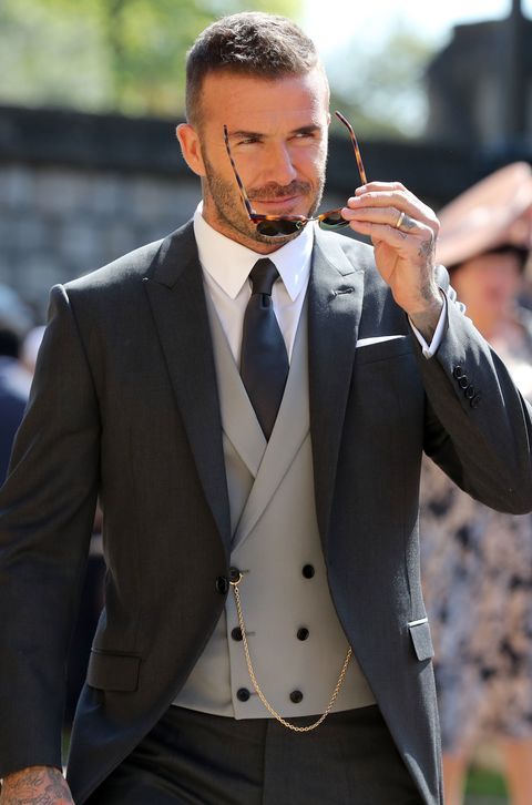 Why You Need David Beckham's Royal Wedding Lo