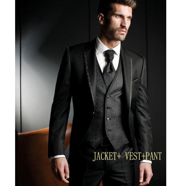 latest coat pant designs Men Suits Groom Tuxedos Wedding Suit .