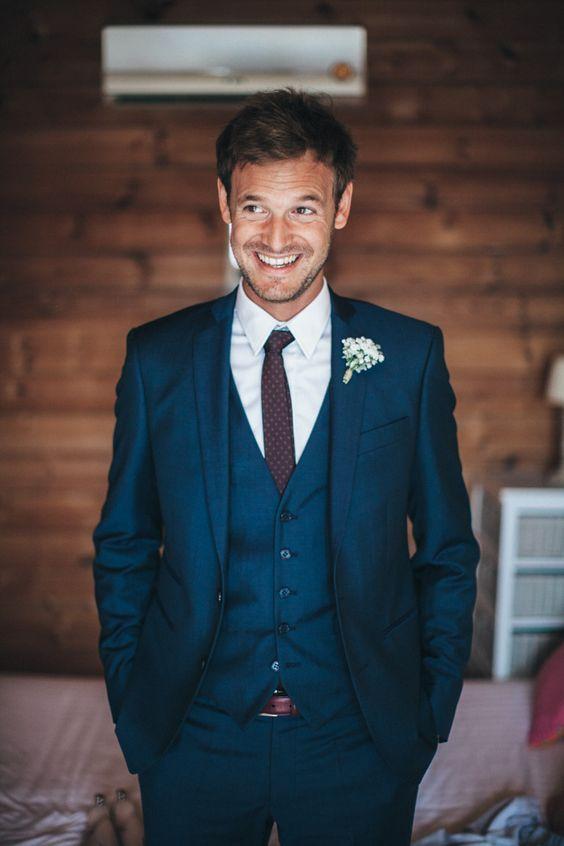 Wedding Ideas by Colour: Blue Wedding Suits   CHWV …   Blue suit .
