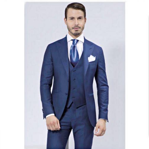 Navy Blue Groom Wedding Suit - Shop Cheap! - Everything Weddi