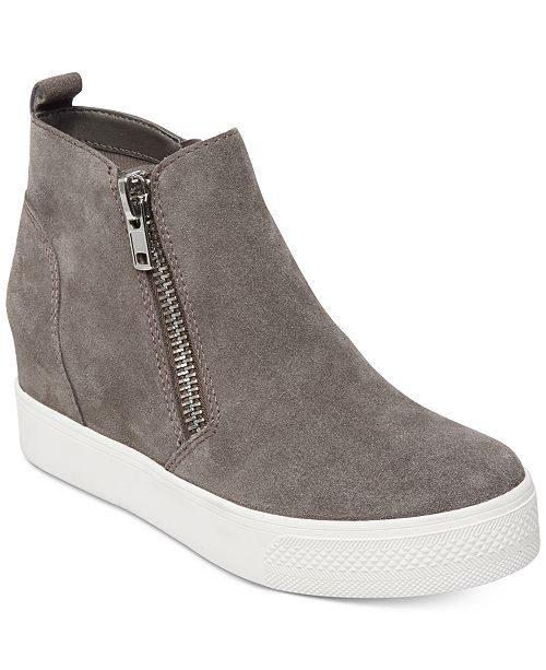 Steve Madden Women's Wedgie Wedge Sneakers & Reviews - Athletic .