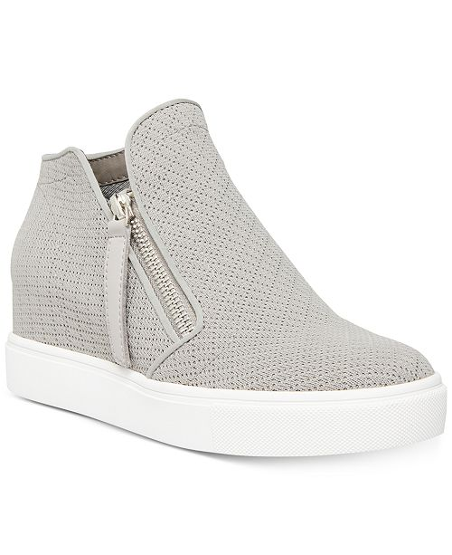 Steve Madden Women's Camden Knit Wedge Sneakers & Reviews .