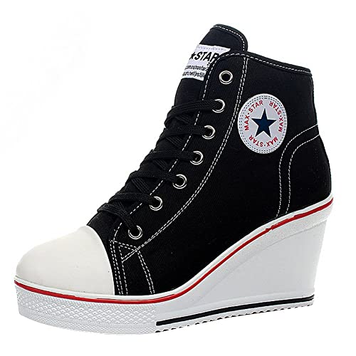 Wedges Sneakers: Amazon.c