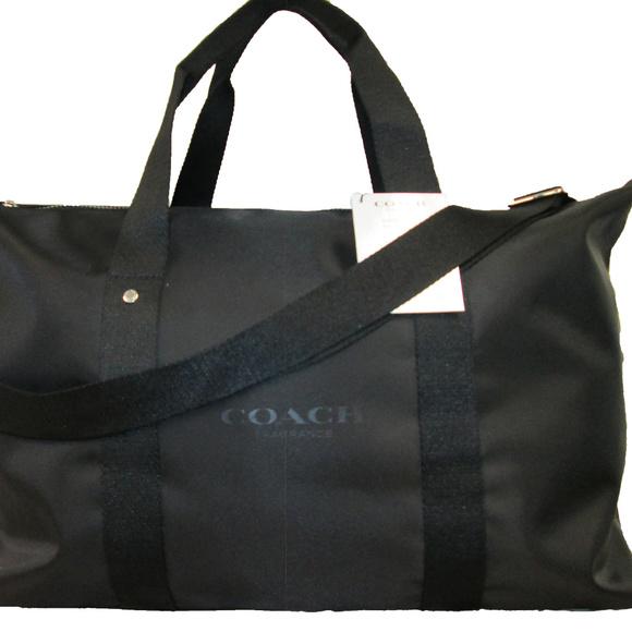 Coach Bags   Black Weekend Bag Sac Weekend   Poshma