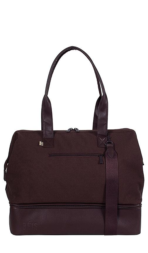 BEIS Weekend Bag in Espresso   REVOL