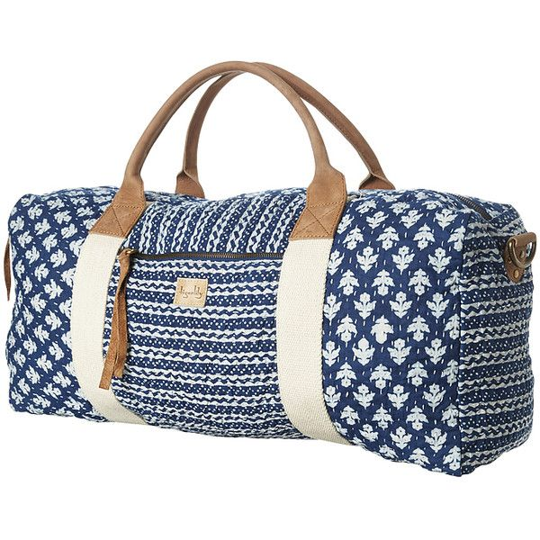 Tigerlily Chatrapati Womens Weekender Bag ($110) ❤ liked on .