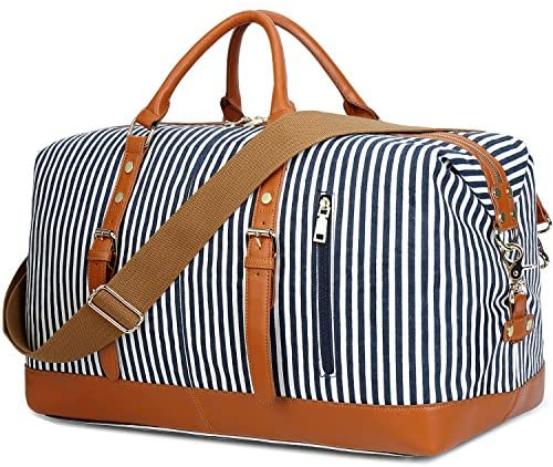 Amazon.com | CAMTOP Weekend Travel Bag Women Ladies Duffle Tote .