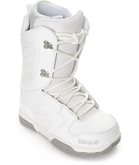 Thirtytwo Exit White Womens Snowboard Boots | Zumi