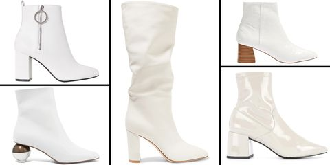 The 16 Best White Boots to Shop For Fall 2018 - White Boots for Wom