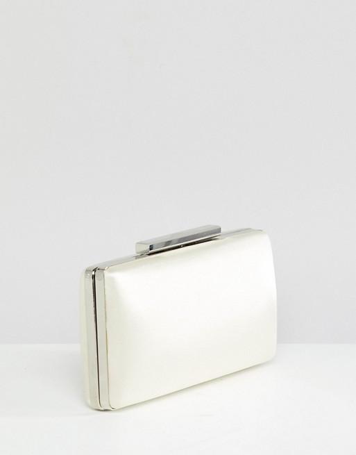 True Decadance White Square Box Clutch Bag | AS