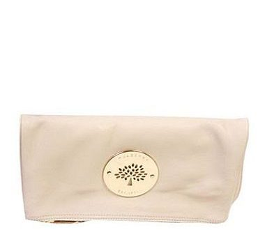 The white Mulberry Daria soft and squishy clutch bag... my hands .