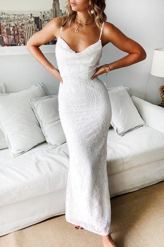 Magic Garden Dress White STELLY Burgundy Formal Pleasant 3 .