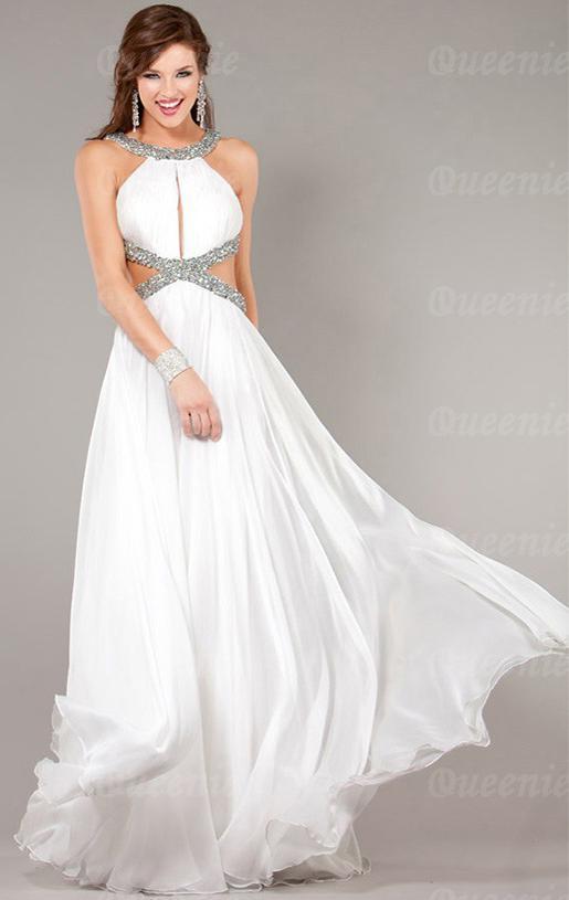 Sexy white formal dresses Photo - 1 - All women dress