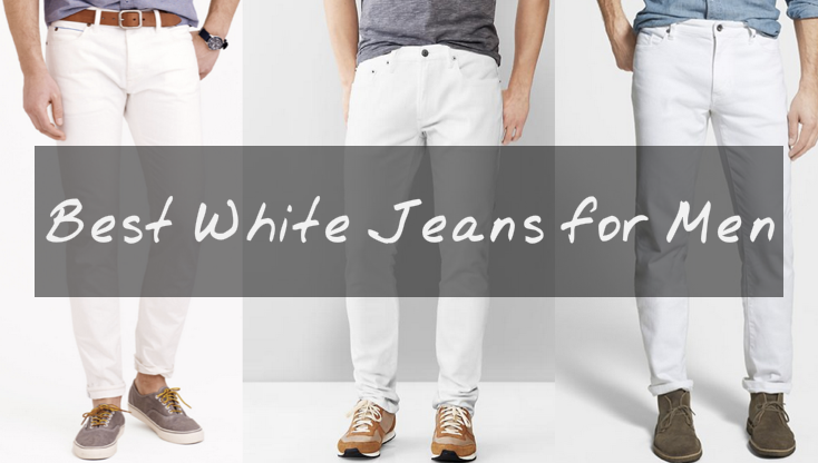 Best White Jeans for Men 2015 - Summer White Skinny Jeans, Pants .