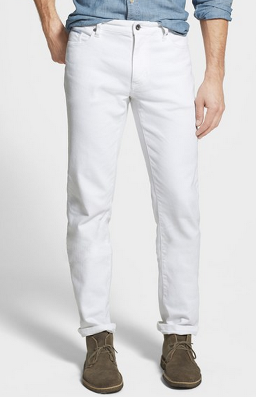 6 White Jeans Men Can Wear (For Real) | White jeans men, Jeans .