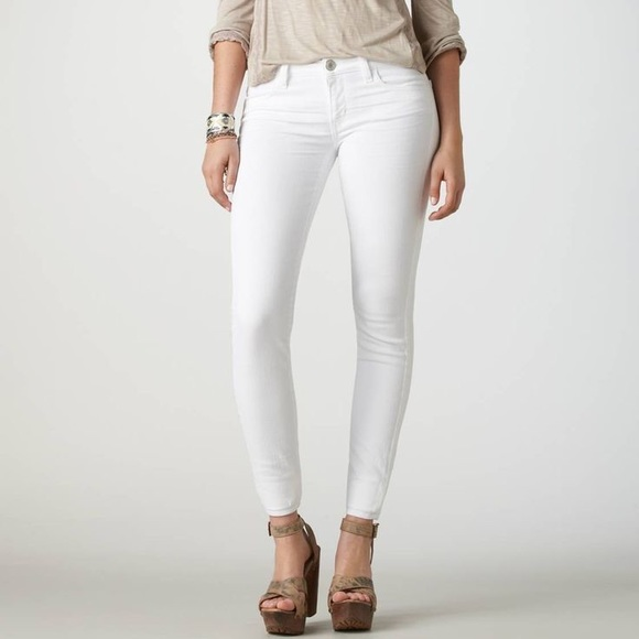 American Eagle Outfitters Jeans | Ae White Jeggings | Poshma