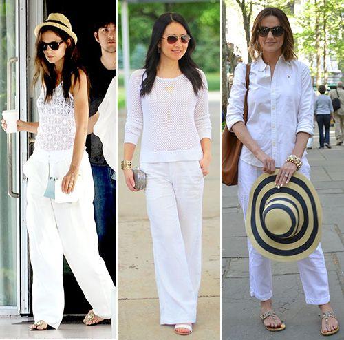 How To Wear White Linen Pants   White linen pants, White linen .