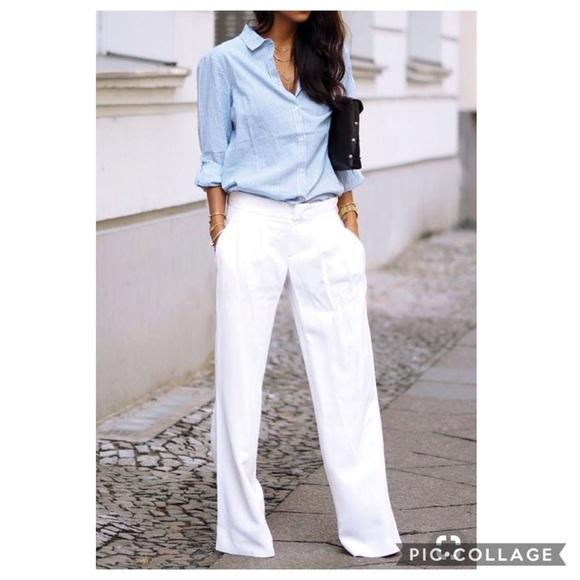 Michael Kors Pants   White Linen Pant   Poshma