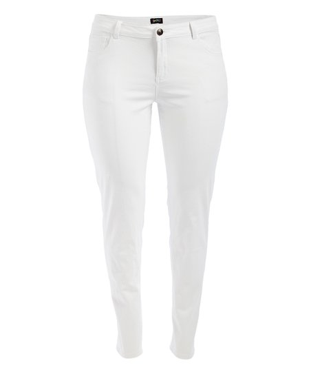 GAZOZ, INC. White Skinny Jeans - Women | Zuli