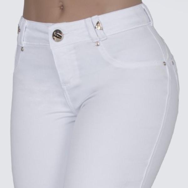 Women's White Skinny Jeans - 277
