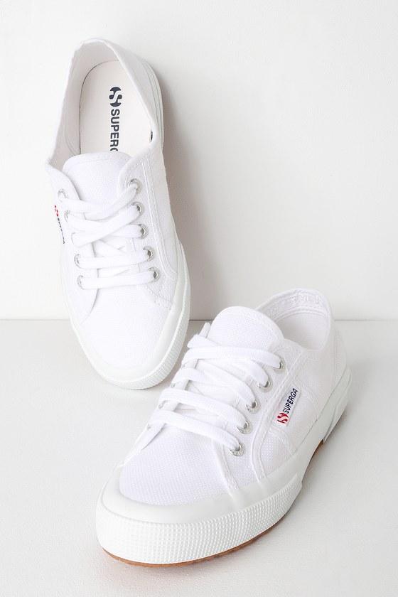 Superga 2750 COTU - White Sneakers - Cool White Sneake