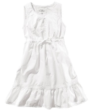 Dressyourkidz: H&M white Summer dress