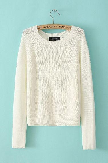 perfect white sweater | Ladies tops fashion, Clothes, Fashi