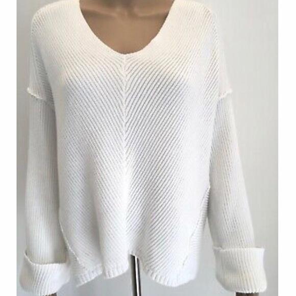 Free People Sweaters | White Sweater | Poshma