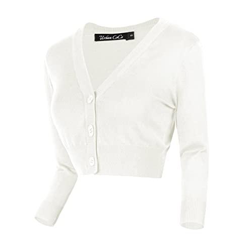 Cropped White Sweaters: Amazon.c