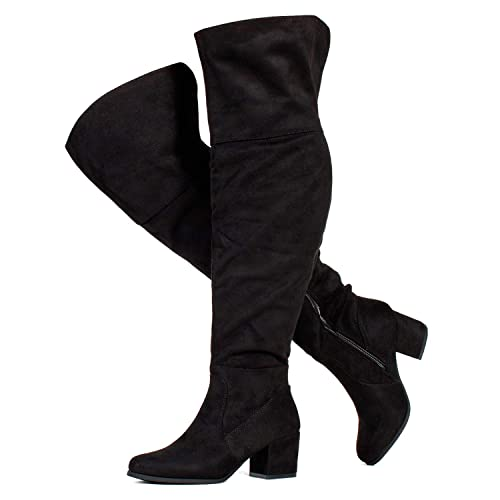 Over The Knee Boots Wide Calf: Amazon.c