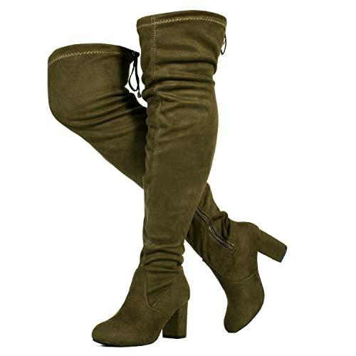 Wide Calf High Heel Boots: Amazon.c