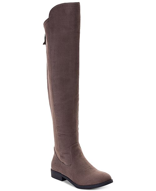 Style & Co Hayley Wide-Calf Over-The-Knee Zip Boots, Created for .