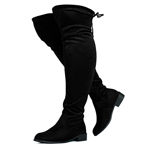 Over The Knee Wide Calf Boots: Amazon.c