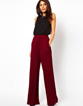 Asos Pants with Wide Leg on shopstyle.com | Wide leg trousers .