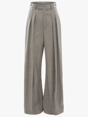 HIGH WAISTED WIDE LEG TROUSERS | JW Anders