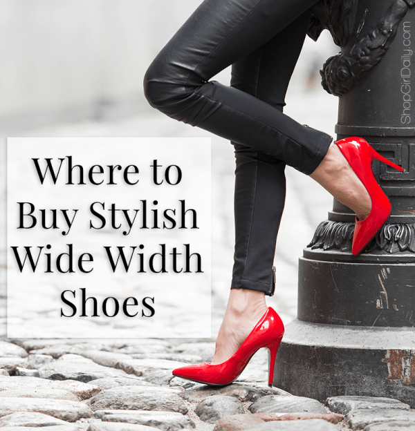 Where to Buy Stylish Wide Width Shoes | Wide width shoes, Wide fit .
