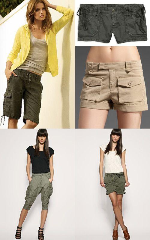 Cargo Short Pants for Women   Cargo shorts women, Pants for women .