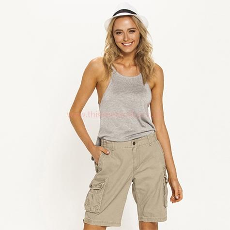 Billabong Scout Cargo Shorts - Women's Stylish Shorts - D286172 .