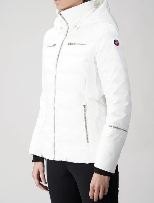 Lise : Women ski jacket made of satiny matte