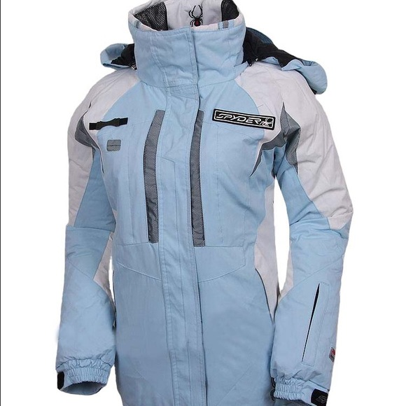 Spyder Jackets & Coats   Women Ski Jackets Light Blue Medium .