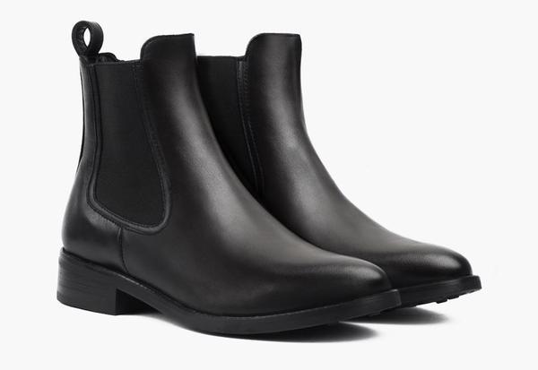 Women's Black Duchess Chelsea Boot - Thursday Boot Compa
