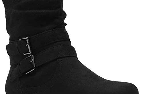 Amazon.com   Herstyle Lindell Women's Fashion Flat Heel Calf Boots .