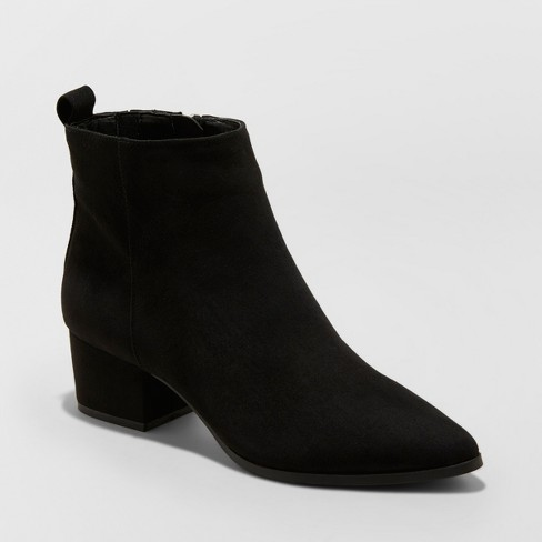 Women's Valerie Microsude City Ankle Fashion Boots - A New Day .